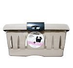 Petmate Traveler Under Seat Carrier For Small Dogs and Cats - (LxBxH - 17x12x8 Inch)
