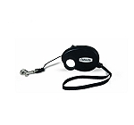 Petmate Palm Retractable Leash Medium - Black