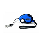 Petmate Palm Retractable Leash Medium - Blue