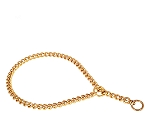 DogSpot Brass Choke Chain 3 mm - 28 Inches