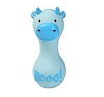 DogSpot Latex Dumbbell Farm Cow mooo ! - 5 Inches