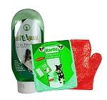 All4Pets Tea Tree Oil Anti-Dandruff Pet Shampoo - 200 Ml With Glove & Towel