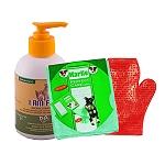 I Am Free Neem And Sesame Oil Organic Shampoo - 250 Ml With Glove & Towel
