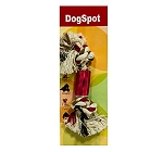 DogSpot Cotton Bone Chew Toy - Small