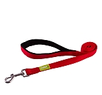 DogSpot Premium Leash With Soft Handle Red 20 mm - Medium