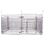 DogSpot Puppy Play Pen (LxW - 47 x 47 inch) - 6  panel