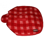 DogSpot Classic Check Dog Coat Red - Size 12