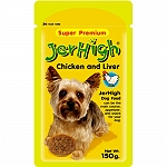 JerHigh Chicken And Liver In Gravy Pouch  - 150 Gm
