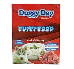 Doggy Day Beef & Yogurt Puppy Food - 100 Gm ( 12 Packs)