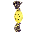 Pet Brand Rope & Rubber Ball