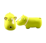 DogSpot Latex Sweety Bull Terrier - 4.3 inches