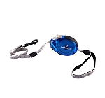 Petmate Translucent Palm Retractable Leash Medium - Blue