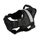 Speedy Pet Dog Harness with Reflective Band Black - Large