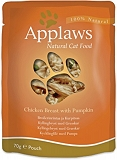 Applaws Cat Pouch Food Chicken & Pumpkin & Wild Rice -70 gm (12 Pouches)