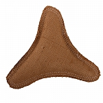 DogSpot Fused Jute Boomerang Toy