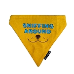 Mutt Of Course Sniffing Around Bandana - Large