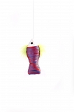 PetSpot Nylon Fish Teaser Cat Toy