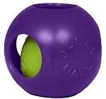 Jolly Pets Teaser Ball Dog Toy Purple - 20.3 cm