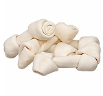 DogSpot Rawhide Knotted Bones Medium - 2 Pieces