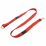DogSpot Handcrafted Canvas Light Leash 20 mm Red - 60 Inches