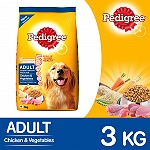Pedigree Adult Dog Food Chicken & Vegetables  - 3 Kg