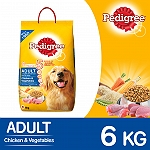 Pedigree Adult Chicken & Vegetables - 6 kg