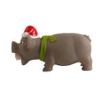 DogSpot Vinyl Christmas Pig Toy