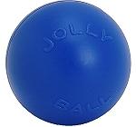 Jolly Pets Push-n-Play Ball Dog Toy Blue - 15.24 cm