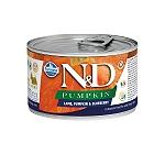 Farmina N&D Wet Dog Food Grain Free Pumpkin Lamb & Blueberry Starter Mini - 140 gm (6 Cans)
