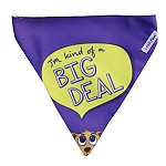 LANA Paws I am kind of a big deal Dog Adjustable Bandana  -Medium & Large