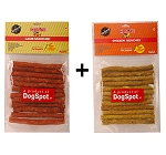 DogSpot Lamb & Chicken Munchies - 450 Gm Each