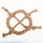 DogSpot Jute Cotton Rope Knotted Ring