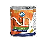 Farmina N&D Wet Dog Food Grain Free Grain Free Pumpkin Lamb & Blueberry Starter - 285 gm (6 Cans)