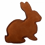 DogSpot Dura Fused Leather Rabbit Dog Toy