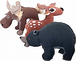 Petsport Assorted Forest Friends Dog Toy