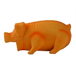 DogSpot Latex Goblet Pig Dog Toy - Peach
