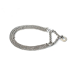 DogSpot Triple Semi Choke Chain 2 mm - 16 inches
