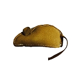 DogSpot Dura Fused Leather Mouse Dog Toy