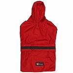Mutt Of Course Dog Raincoat Red - Medium