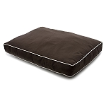DogSpot Smart Rectangular Bed Espresso - Small - (LxBxH - 34x26x4.5) Inches