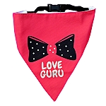 LANA Paws Love Guru Adjustable Bandana  -Small & Medium