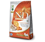 Natural & Delicious Grain Free Pumpkin Fish & Orange Adult Mini - 7 Kg