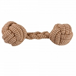 DogSpot Jute Cotton Rope Dumbell