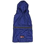 Mutt Of Course Dog Raincoat Blue - 3XLarge