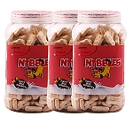Nibbles Puppy Milk Biscuit - 500 gm(Pack Of 3)