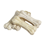 Pet en Care Rawhide Pressed Bone - 10.16 Cm- 8 Pcs