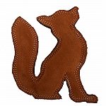 DogSpot Dura Fused Leather Fox Dog Toy