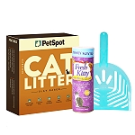 PetSpot Cat Litter - 5 kg with Cat Litter Deodorizer & Scooper