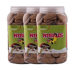 Nibbles Multigrain & Oats Dog Biscuit - 500 gm(Pack Of 3)