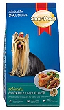 Smart Heart Dry Dog Food Chicken and Liver Small Breed Adult - 1.5 kg